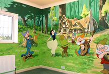 Dětský pokoj-malby