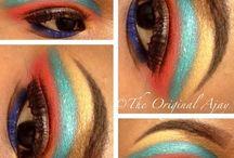 Cut-Crease eye makeup / Creative Cut-Crease eye designs