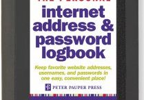 Internet Address and Password Logbooks / https://www.a-choice-of-gifts.co.uk/giftshop/cat_1069495-Internet-Address-and-Password-Logbooks.html