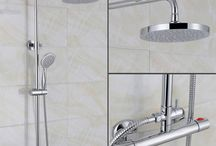 Exposed Showers / Exposed showers offer a great versatile option for upgrading your bath or shower room. Generally easier to install than concealed valves, their designs make them a standout feature with a variety of styles and complementary series to choose from whilst still offering an invigorating shower experience. See more at: http://www.willesdenbathrooms.co.uk/showers/exposed-shower