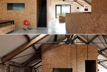 OSB, dřevěné konstrukce