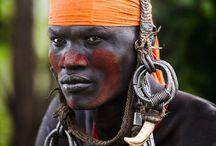 African people 03 - Mursi Tribe, Ethiopia - Peuples africains 03 - Tribu Mursi, Ethiopie