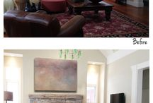 Digital Imposing / Sorelle Gallery Fine Art offers digital imposing for clients that cannot reach the gallery. Send us a photo of your space to info@sorellegallery.com and we will impose any painting of your choosing onto the photo for consideration! Here are a few examples...