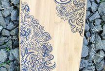 doodle longboard