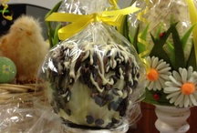 Candy And Chocolate Apples