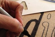 Hessian hangings / Easy