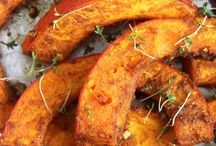 pumpkin roasted with tyme