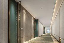 korytarze hotelowe