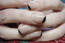 Nail Art - minimal & neutral
