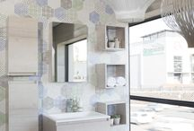 Timeless Elegance / Contemporary bathroom designs are clean, fresh and have sleek lines.