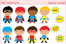 Superheros / by Michelle Griffith