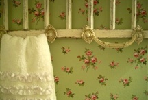 Wallpaper / Vintage, romantic, floral and swedish wallpaper.