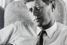 John F Kennedy & Jacqueline Kennedy