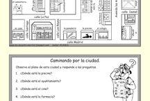 PUEBLO, CIUDAD Y TIENDAS