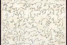 Quai Voltaire sophisticated / Un assemblage d'oeuvres de la galerie Boccara et d'images d'intérieurs provenant d'ailleurs. Suggestions et inspiration.