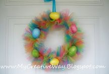 wreaths / Cool wreath for your door / by Kaylee Alexis