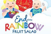 End of the Rainbow Fruit Salad