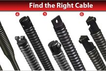 Drain Cleaning Cables / Blocked drains are no problem with our drain snakes and other plumbing tools. We can help you find the right drain cable. Call 800-421-4580 or visit us at http://www.draincables.com/Drain_Cleaning_Cables_Accessories_s/150.htm