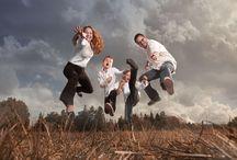 Portraits de famille : on ose / Des portraits de famille qui sortent des sentiers battus