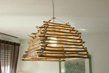 lustre bois flotte