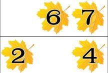 škola -  téma podzim