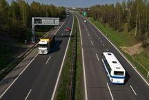 Dálnice - dopravní stavby /  freeway