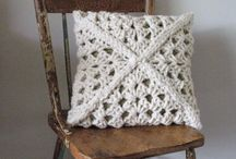 Crochet Pillows, Chair Covers, Curtains / Anything to crochet for the house.