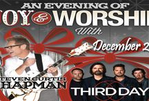 An Evening of Joy and Worship with Steven Curtis Chapman & Third Day - December 20, 2014