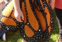 kostým motýla