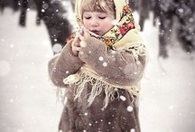 Children and snow / by Margriet Hulsker