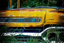 old, vintage cars❤ / by Brianna Dearing