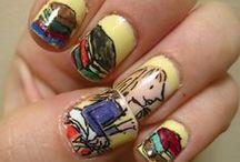 Bookish Nail Art
