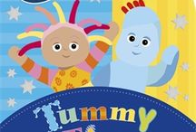 Tummy Time / Make tummy time fun with Igglepiggle, Upsy Daisy and other favourite In the Night Garden characters with this colourful carousel book from https://www.pinterest.com/ladybirdbooks/