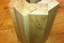 Træarbejde projekter