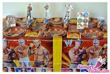 Fiesta de la WWE / Ideas y artículos para una fiesta de cumpleaños con los luchadores de la WWE.