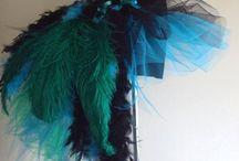 Deguisement avec des plumes