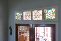 Awesome installed stained glass window pictures! / A variety of installed stained glass windows pictures that were provided by our clients.    Email us today for your free quote for your project!  http://stainedglasswindows.com/   619-454-9702