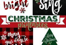 Christmas Printables / 0
