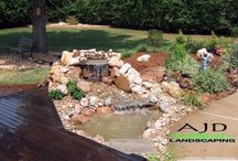 AJD Landscaping Water Features / Water Features we have designed and intsalled