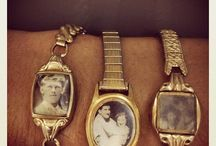 vintage watches and charms