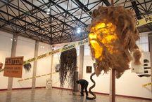 """EXPOSICIÓN """"TZANTZA"""" DEL ARTISTA NAEKAT TIWIP EN LA CCE / El artista indígena ecuatoriano Naekat Tiwip, inaugurará su muestra pictórica denominada TZANTZA, este miércoles 13 de enero, a las 19h00, en la sala Víctor Mideros de la Casa de la Cultura Ecuatoriana"""