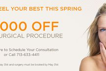 Plastic Surgery Specials / Promos and discounts available in our practice.