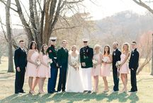 Military Wedding Inspiration / Go beyond red, white, and blue & get inspired for your military wedding.  / by David's Bridal