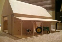 toy barns/houses