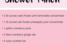 Recipes- Punch!