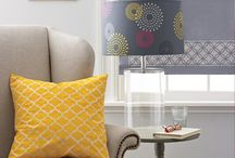 Stenciled Blinds & Drapes / by StencilSearch