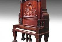 Antique Upright Pianos / by Antique Piano Shop