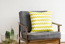 Yellow and Grey Home / by KitzieG Designs By Laura Duffey