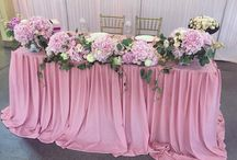 Свадьбы в розовых тонах