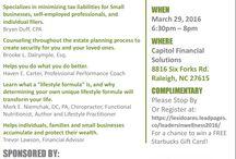 Speaking Events / Scheduled Speaking Events